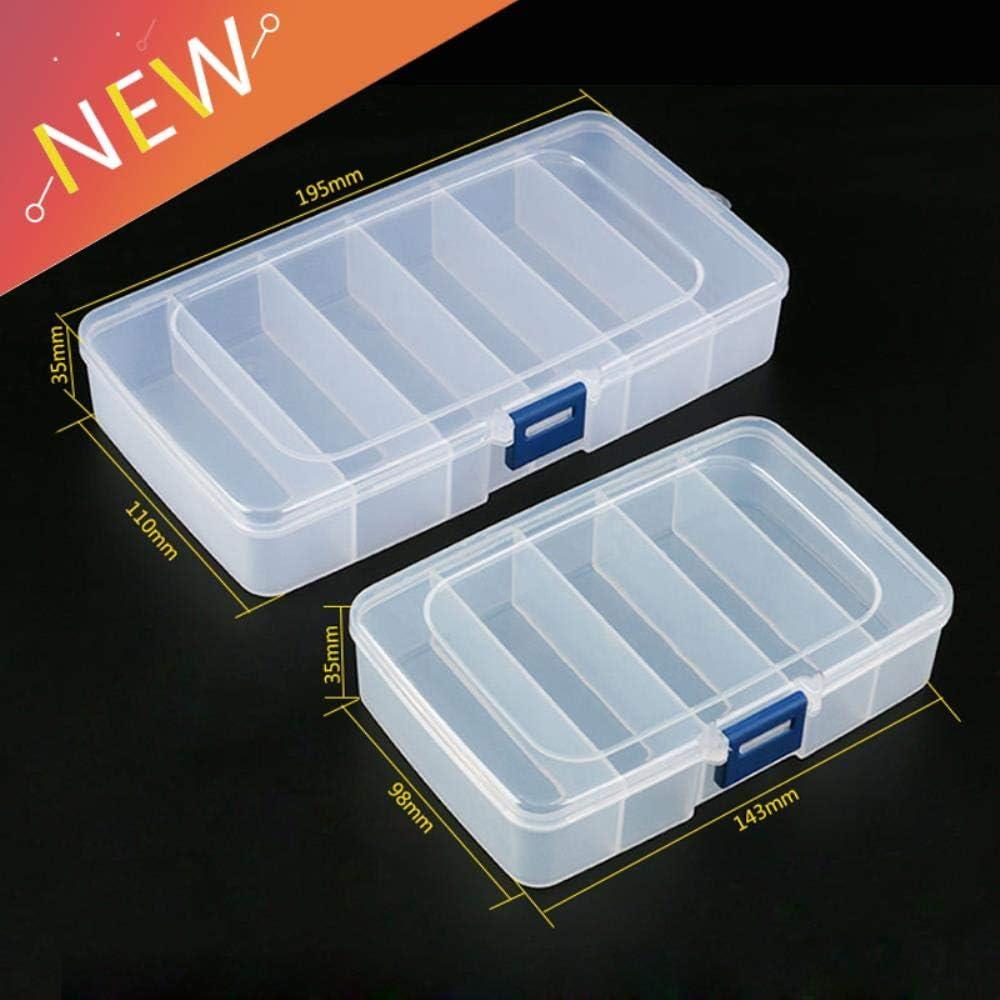 1 caja de herramientas de plástico con tornillos IC para joyas ...