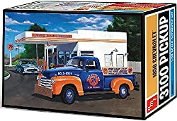 AMT 1076 1950 Chevrolet 3100 Pickup 1:25 Scale Plastic Model Kit - Requires Assembly by AMT