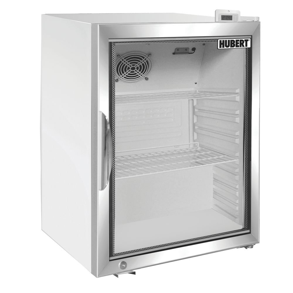 "HUBERT Glass Door Countertop Cold Food Merchandiser Refrigerator 4.1 cu ft White - 24 13/32""L x 21 13/32""W x 28""H 61YEBEVLoSL._SL1000_"