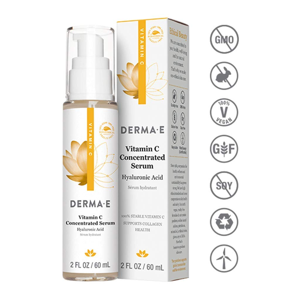 Derma E Vitamin C Concentrated Serum, 2 Fluid Ounce 0365