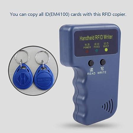 fosa 125KHz RFID Reader Writer EM4100 Portable Handheld RFID