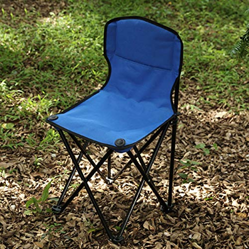 anyilon for Folding Chair Stool Outdoor Portable Beach Chair Backrest Fishing Small Stool Folding Camp Chair Backrest