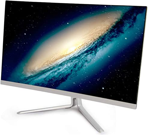 RAPLANC Monitor LED Ultra Delgado Curvo de 22 y 24 Pulgadas con Puerto HDMI y VGA, Tiempo de Respuesta de 2 ms, 3000R, 1 mil Millones + Colores,24Inch: Amazon.es: Hogar