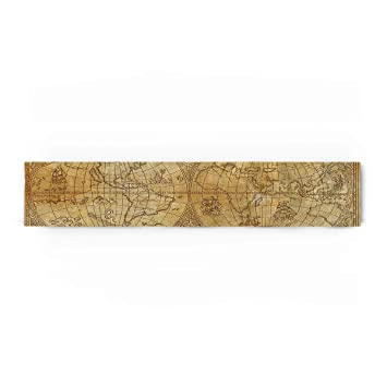 World Map Party Supplies.Amazon Com Prime Leader Medieval World Map Cotton Linen Table
