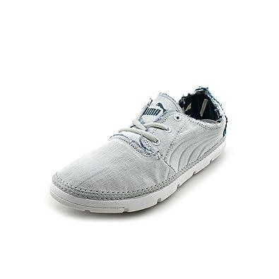 Puma Re Cut Project Denim 3 Herren Grau Slipper Schuhe 42