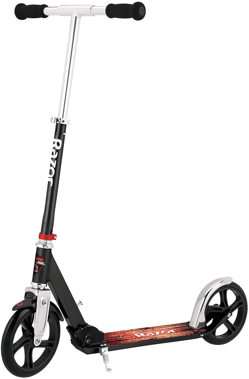 Razor A5 LUX Kick Scooter - Black Label