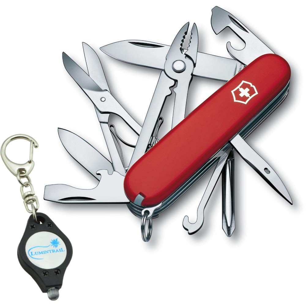 Victorinox Deluxe Tinker Swiss Army Pocket Knife With