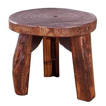 ZEMIN Hocker Massiv Holz Für Kinder Esszimmer Wohnzimmer Study Möbel, Groß,  Mittel, Klein