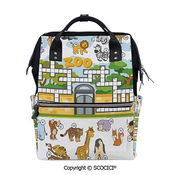 Amazon.com | SCOCICI Stylish Durable School Backpack ...