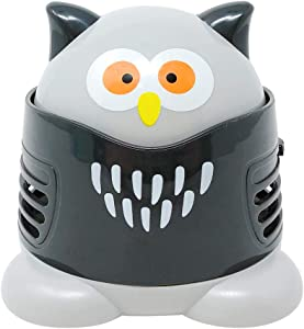 Allydrew Cute Portable Mini Vacuum Cleaner for Home and Office, Owl