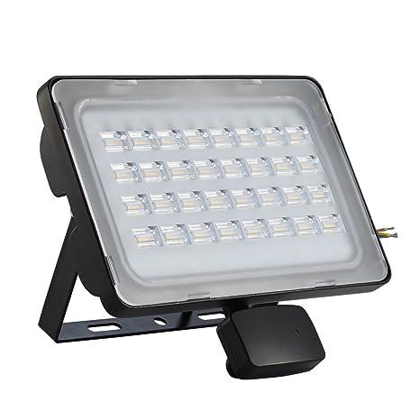 Amazon.com: 10/20/30/50/100W LED sensor de movimiento de la ...