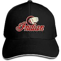 Indian Motorcycles Symbol Value Logo Sports Cap Sandwich
