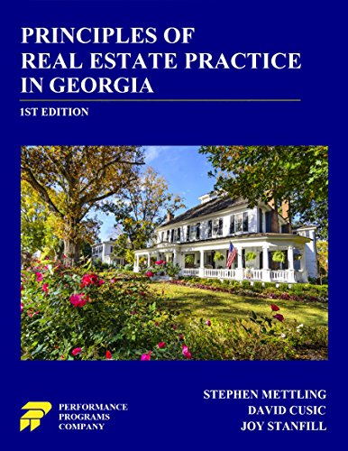 Principles of Real Estate Practice in