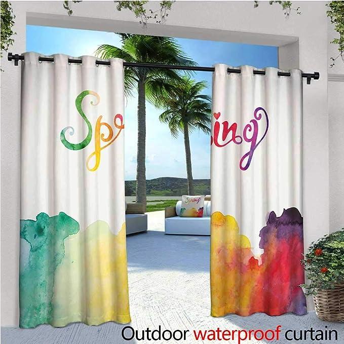 Cortinas de balcón de Colores Suaves, Retro, Elegantes, Nunca ...