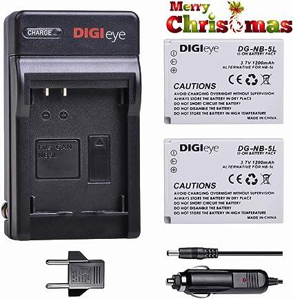 Batterie 1200mAh type NB5L NB-5L Pour Canon PowerShot S110