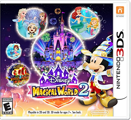 Disney Magical World 2 - Nintendo 3DS (New Nintendo 2ds Xl Vs New 3ds Xl)