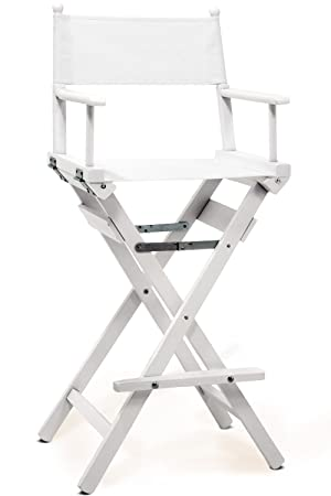 Professional Makeup Artist Chair White Painted FSC Wood  sc 1 st  Amazon UK & Professional Makeup Artist Chair White Painted FSC Wood: Amazon.co ...