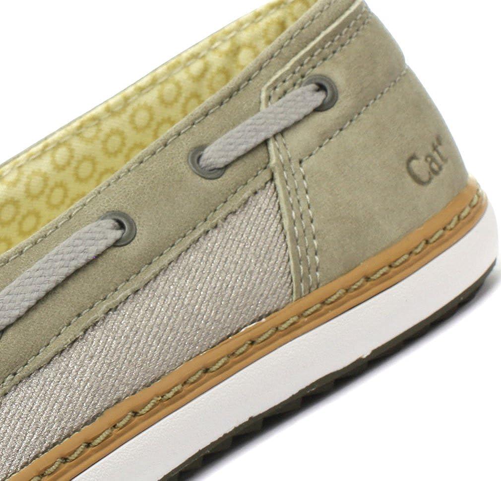 Amazon.com | Caterpillar Luster Womens Mocassin Slip On Shoes Beige/Cream | Flats