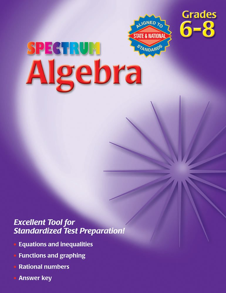 Grade 6 Spectrum Math Workbook