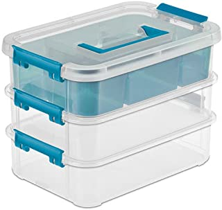 product image for Sterilite 14138606 Layer Stack & Carry Box, 10-5/8-Inch