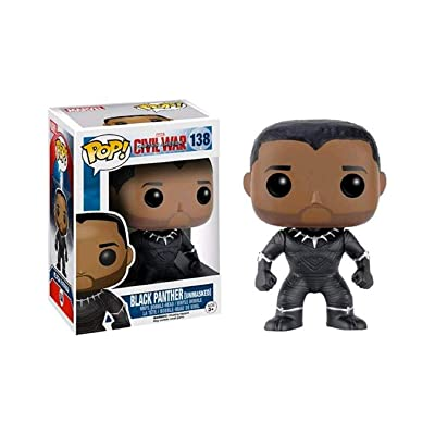 Funko - Civil War - Black Panther Ltd Edition Pop! Vinyl Figure /toys: Toys & Games