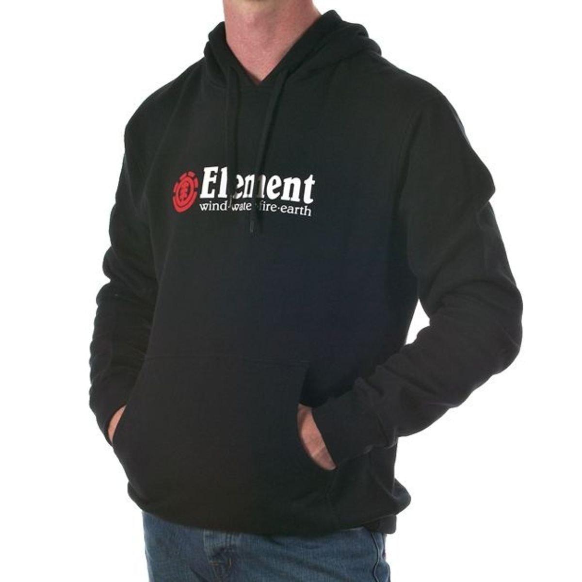 Element Herren Kapuzensweater Horizontal Hood