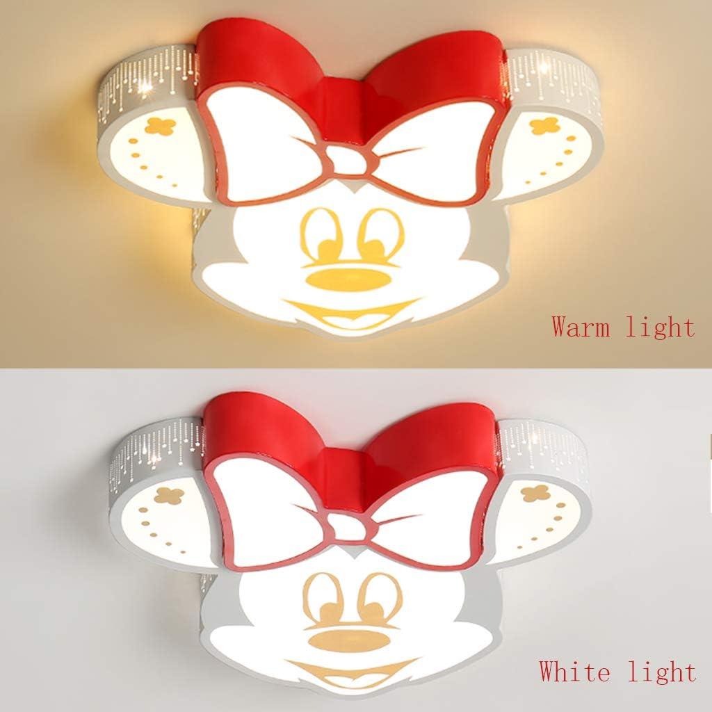 Acryl Deckenlampe LED Tier Cartoon Deckenleuchte Junge M/ädchen Lampe Dimmbar Fernbedienung Kreative Spotlight Dekoration Licht Warm Romantisch Designer Wandleuchte Schlafzimmer Decken Leuchte