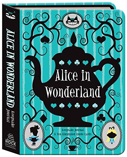 Alice in Wonderland Keepsake Journal: Includes 10 Illustrated Quote Cards Raven Keepsake