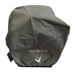 Duraviva Rice Cooker Dust Cover - Nylon, Waterproof, Universal Fit - Compatible With Most Common Rice Cooker Brands (Gray)