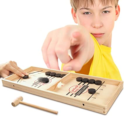 Slingshot Game Board Parent-Child Fast Sling Puck Game Interactive Chess Toy Board Table Game for Kids
