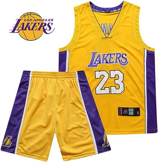 Camiseta De La NBA L.A Lakers Kobe Bryant Jersey Hombres Jóvenes ...