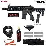Tippmann TMC MAGFED Silver Paintball Gun Package