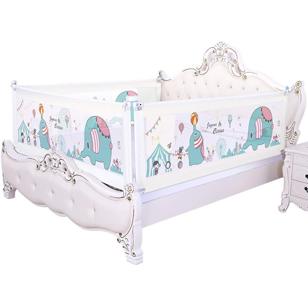 フェンスベッドはベビーベッドベッド反落下防止子供ベッドベッドバッフルを調整することはできません (Color : White, Size : 150 cm-1pc) 150 cm-1pc White B07TXLHGST