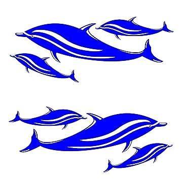 Delphin Aufkleber Deko Sticker Fur Auto Badezimmer Wand
