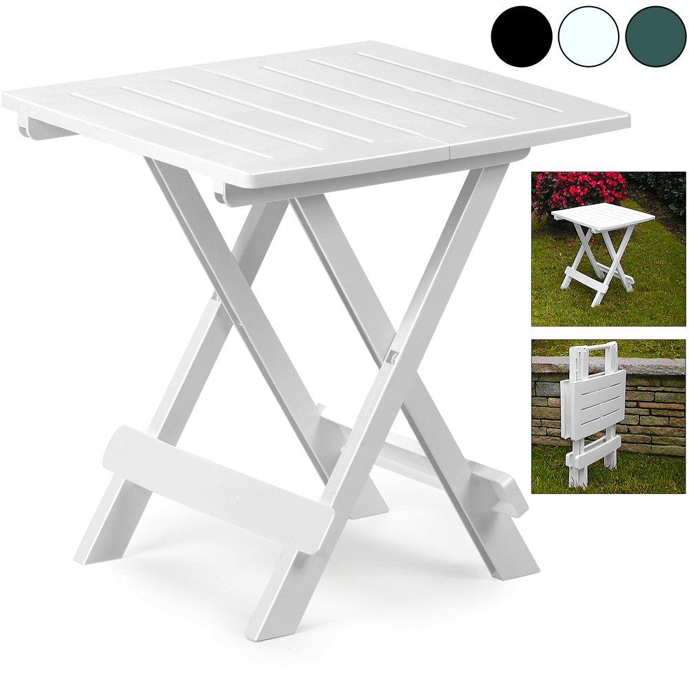 gr/ün Klapptisch Adige Beistelltisch Campingtisch Gartentisch Tisch