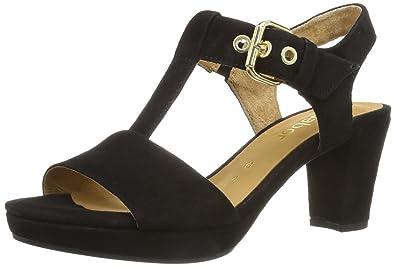 Gabor Sandale schwarz Verkauf Zuverlässig Günstig Kaufen 100% Original Verkauf Gut Verkaufen Viele Arten g2roa