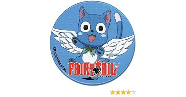 7678 Great Eastern Entertainment Fairy Tail Happy Button Great Eastern Entertainment Inc
