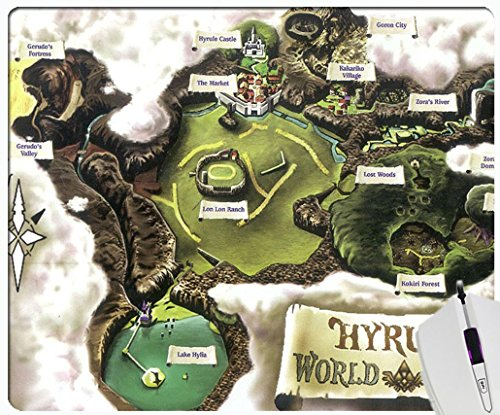 Hyrule Map Ocarina Of Time Custom Personalized Non Slip Rectangle Gaming Computer Mouse Pad Design By Hou Gong Buy Online In Cape Verde At Capeverde Desertcart Com Productid 30914959