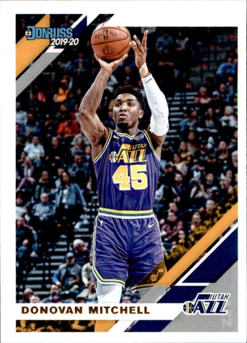 2019-20 Panini Absolute Retail #19 Donovan Mitchell Utah Jazz Basketball Card