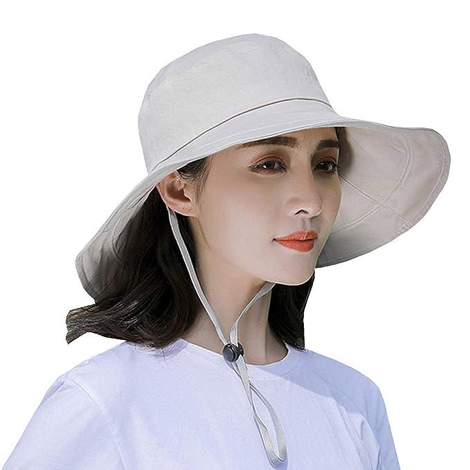 Jormatt Women  Men Outdoor Sun Hat UV Protection Fishing Hiking Caps with Face