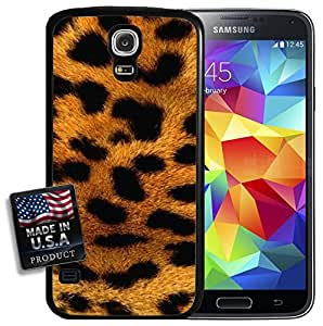 Cheetah Leopard Fur Print Galaxy S5 Hard Case by mcsharks