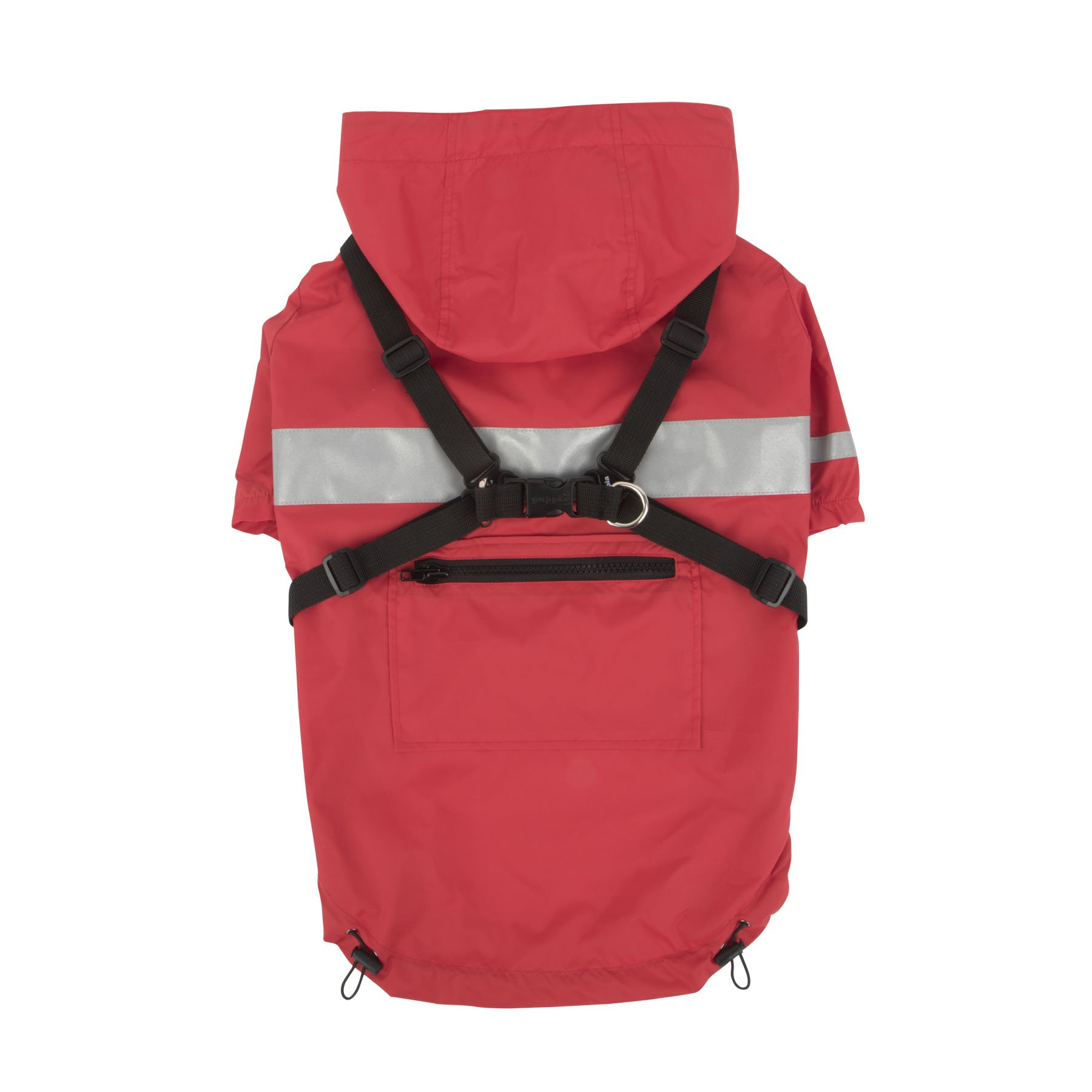 Puppia PLRA-JM9320-RD-L Red Wilderness Pet-Coats, LARGE by Puppia