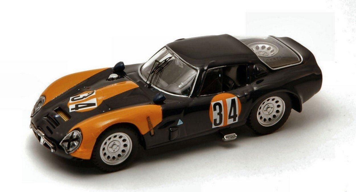 BEST MODEL BT9329 ALFA ROMEO TZ 2 N.34 MISANO 1973 OTTORINO VOLONTIERO 1 43