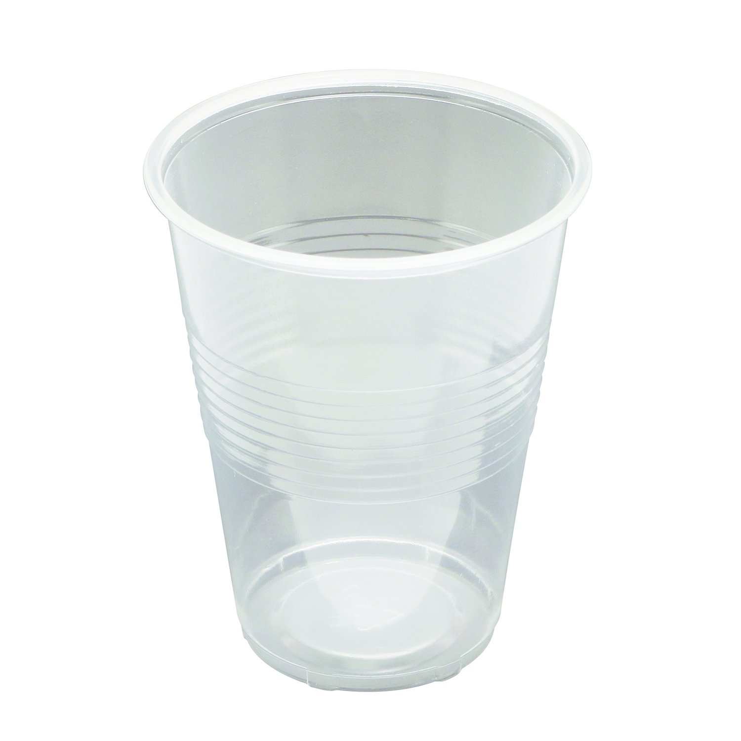 Prime-Line MP45000 9 oz. Plastic Cup for Cold Liquids, Translucent, Individually Wrapped, Case of 1,000 Cups