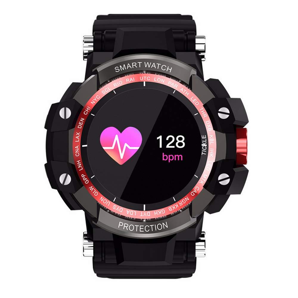 JKYQ Anti-Kratzer intelligentes Armbrust Blautdruck-Herzfrequenz-Schlaf &Uu ;berwachung Fitness-Tracker-Outdoor-&Uu ;bung Laufen männliche weibliche Erwachsene intelligente  d