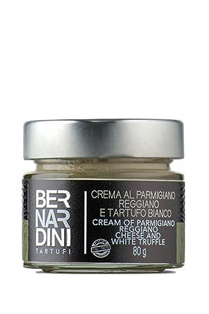 Bernardini Tartufi Parmigiano Reggiano Crema de Queso y Trufa Blanca - 80 gr