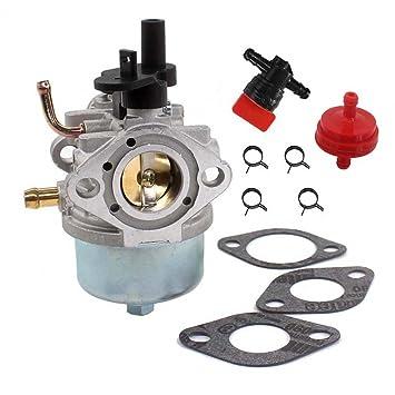 aisen carburetor carb shut off valve fuel filter for briggs & stratton  801396 801233 801255 lawnboy 2 cycle snowblowers 084133 084233 084332  084333: