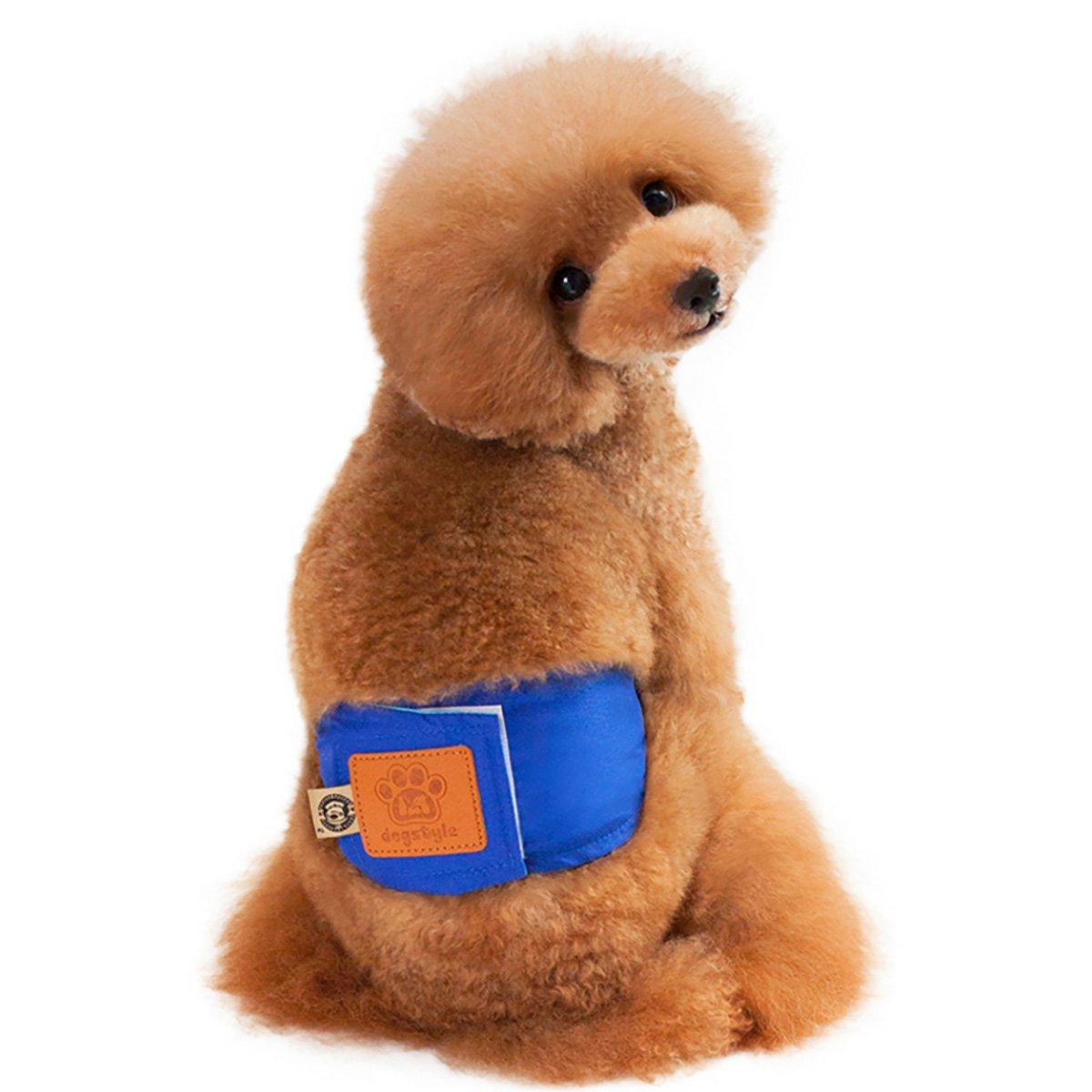 UHeng 4 PCS Male Dog Reusable Wrap Diaper Washable Puppy Belly Band by UHeng (Image #2)