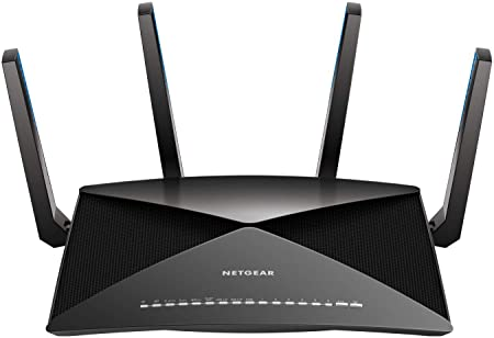 Netgear Nighthawk X10 Ad7200 802.11ac/Ad Quad Stream Wi Fi Router, 1.7 G Hz Quad Core Processor, Plex Media Server, Compatible With Amazon Alexa (R9000) (Renewed) by Amazon Renewed