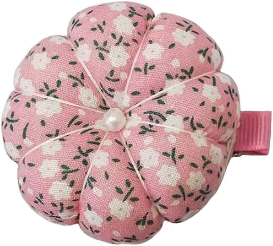 Pink GAMESPFF Pincushions Sewing with Clip Cute Wrist Pin Cushion for Daily Needlework